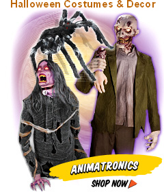 Spine Chilling Halloween Animatronics, Decorations, And Costumes From Spirit Halloween!