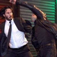 Keanu Reeves Battles A Vampire