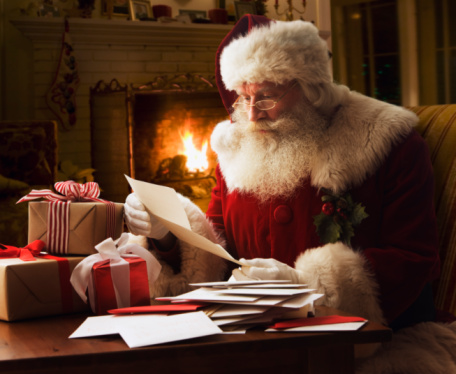 The Unbelieving Postal Services Of The World Generally Consider Kids  Letters To Santa Claus As Undeliverable Fantasies. This Includes The US  Post Office, ...