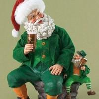 Santa Claus Meets Leprechaun