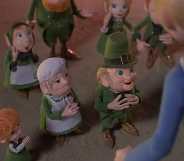 Leprechauns Christmas Gold Kids Cartoon - Mystic Christmas Blog