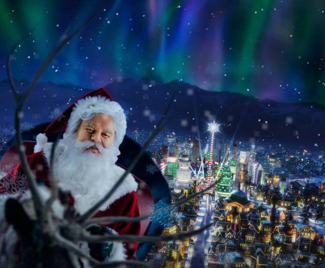 santa north pole - Santa At The North Pole