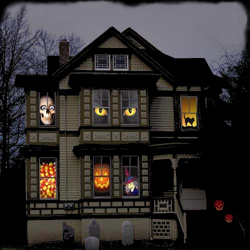 Halloween decorations mystic halloween blog - Decoration halloween maison ...