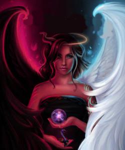 Angel Demon Hybrid
