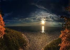 Halloween Island Sea Shore