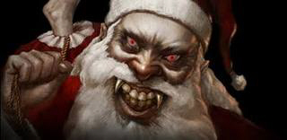 Suddenly Rebecca is drawn into another dimension! Demonic-dark-claus