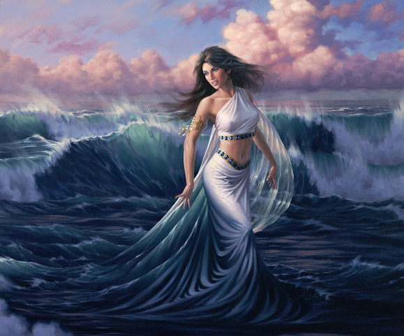 what is a nereid or sea nymph