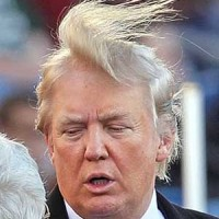 Triple Comb Over Trump