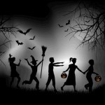 Halloween Night Trick O Treating Warning