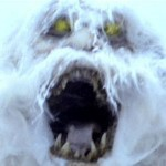 Abominable Snowman Yeti Warning