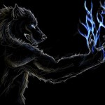 Lunar Lightning Werewolf Warning