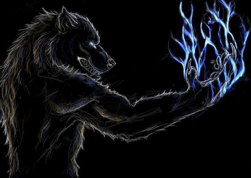the thunderous lunar lightning werewolf warning paranormal