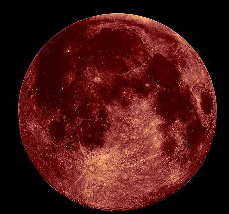 Image result for strawberry moon