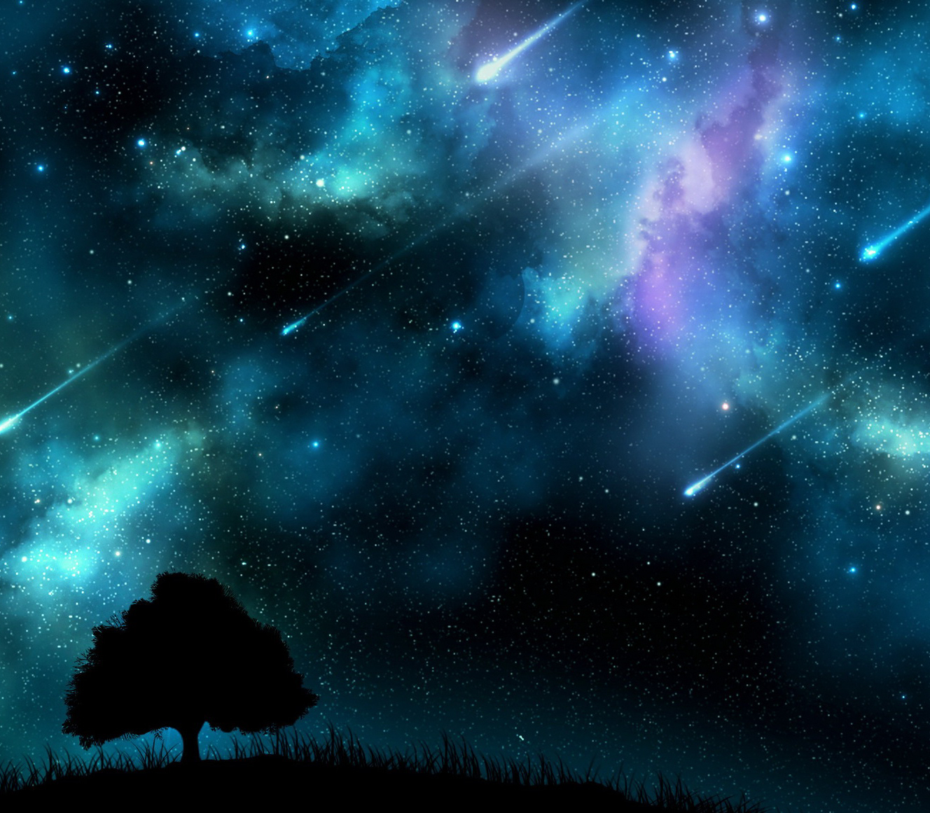 Perseid Power Shower on Real Planets Wallpapers Hd