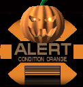 Halloween Orange Alert!