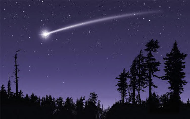 When You Wish Upon A Shooting Star!