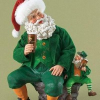 Santa Claus Meets Leprechaun