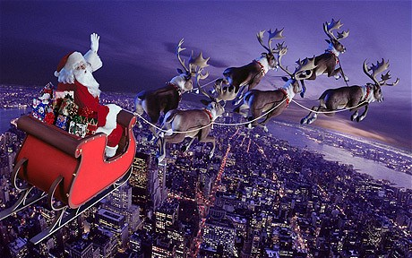 When Does Santa Claus Deliver His Christmas Gifts?