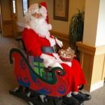 Santa Sleigh Chair