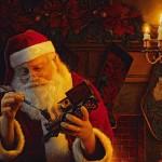 Santa Hand Crafting Toys