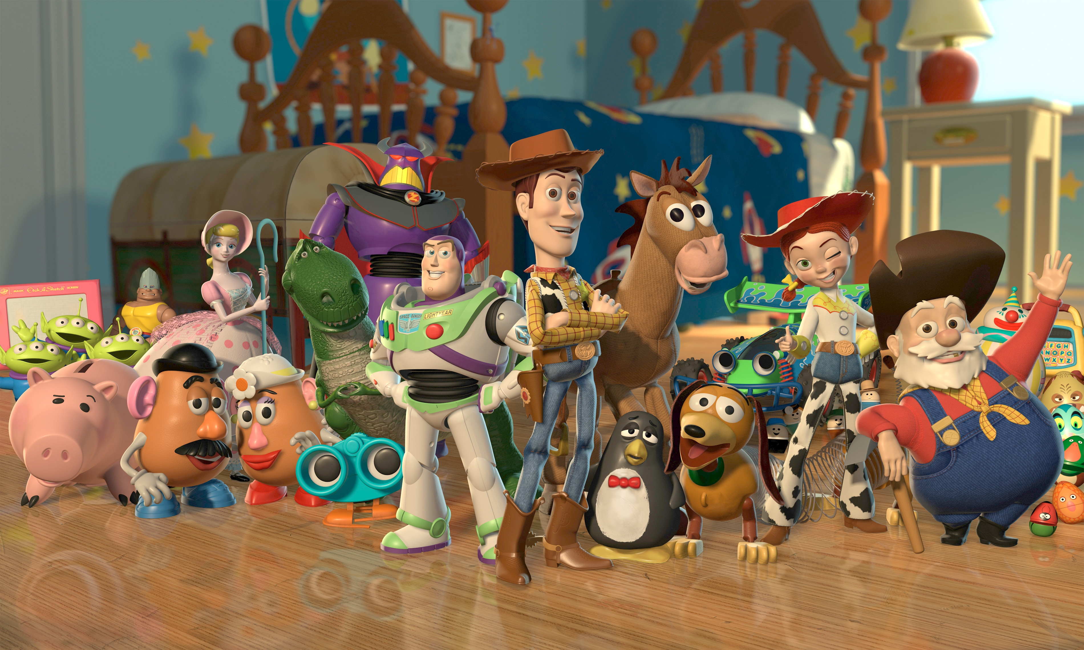 Toy Story Is Real At Santa Claus's North Pole City