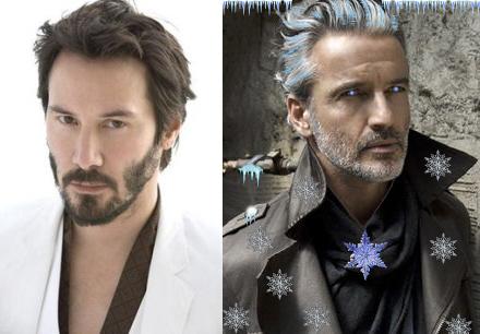 Keanu Reeves Battles Jack Frost