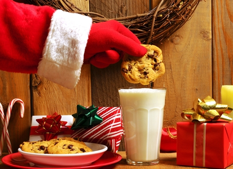 Does Santa Claus Eat All The Cookies And Milk Left For Him Mystic