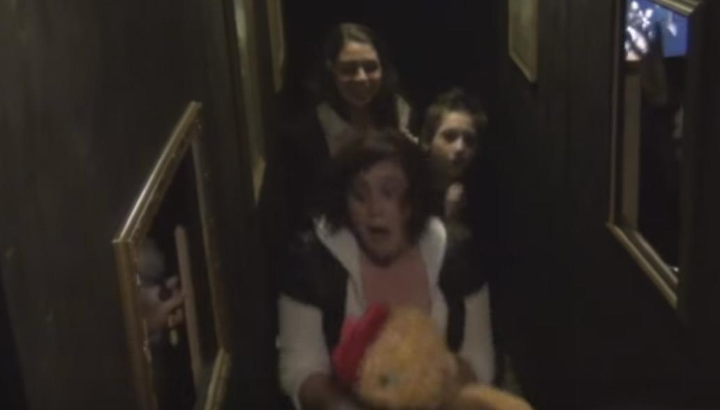 Haunted Halloween Hallway Of Horror