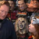 Conan O'Brien Browses A Halloween Shop