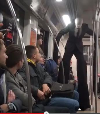 Realistic Slender Man Prank Or Is It Really Him?