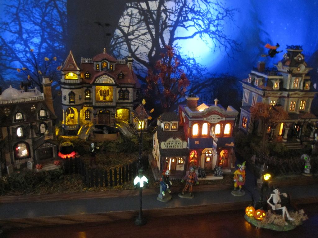 Halloween Island Village