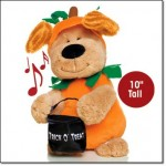 Dancing Musical Halloween Toy Puppy
