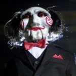Saw's Jigsaw Scares Trick Or Treaters On Halloween