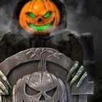 Graveyard Pumpkin Guardian Ghoul