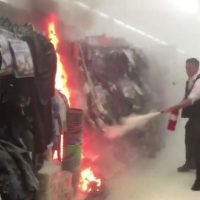 Aisle 13 Fire