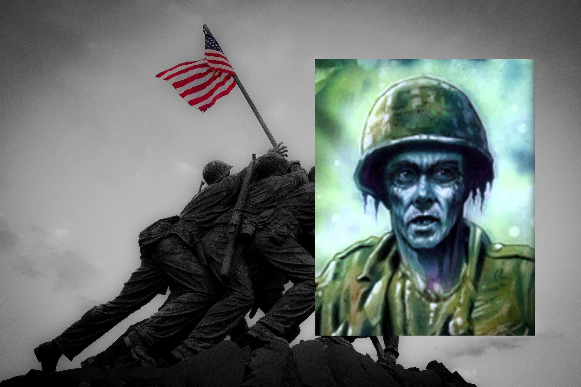 The Memorial Day Veteran Zombie