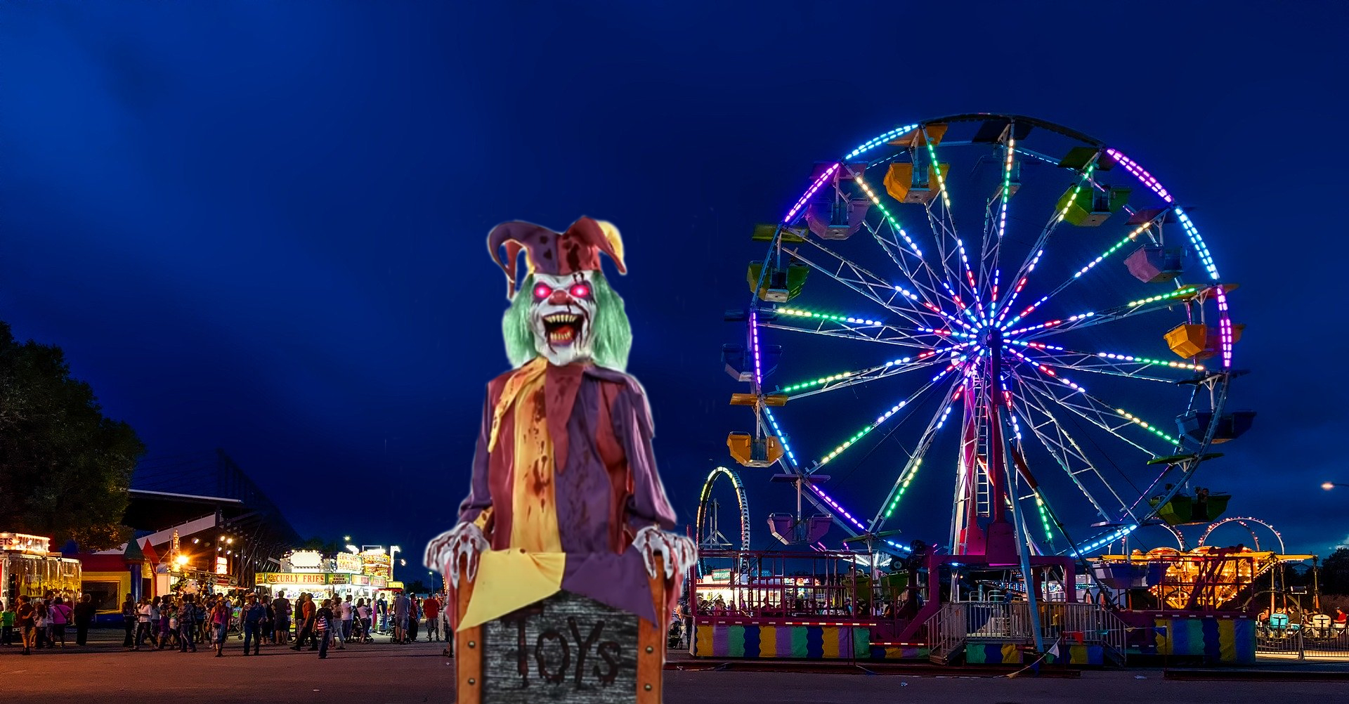 Chester The Spine Chilling Carnival Clown Jester