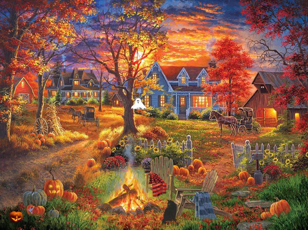 Halloween Autumn Farms Village