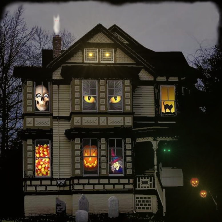 Turn your home into haunted house of Halloween!
