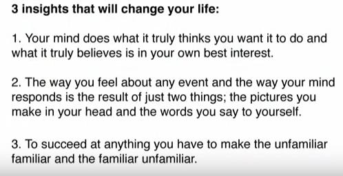 Three Life Insights