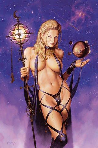 Amazonian Priestess Witch