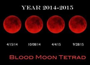 Blood Moon Tetrad 2014-2015