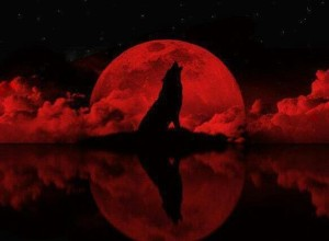 Blood Tetrad Moon Werewolf