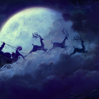 Christmas Yule Moon Magic