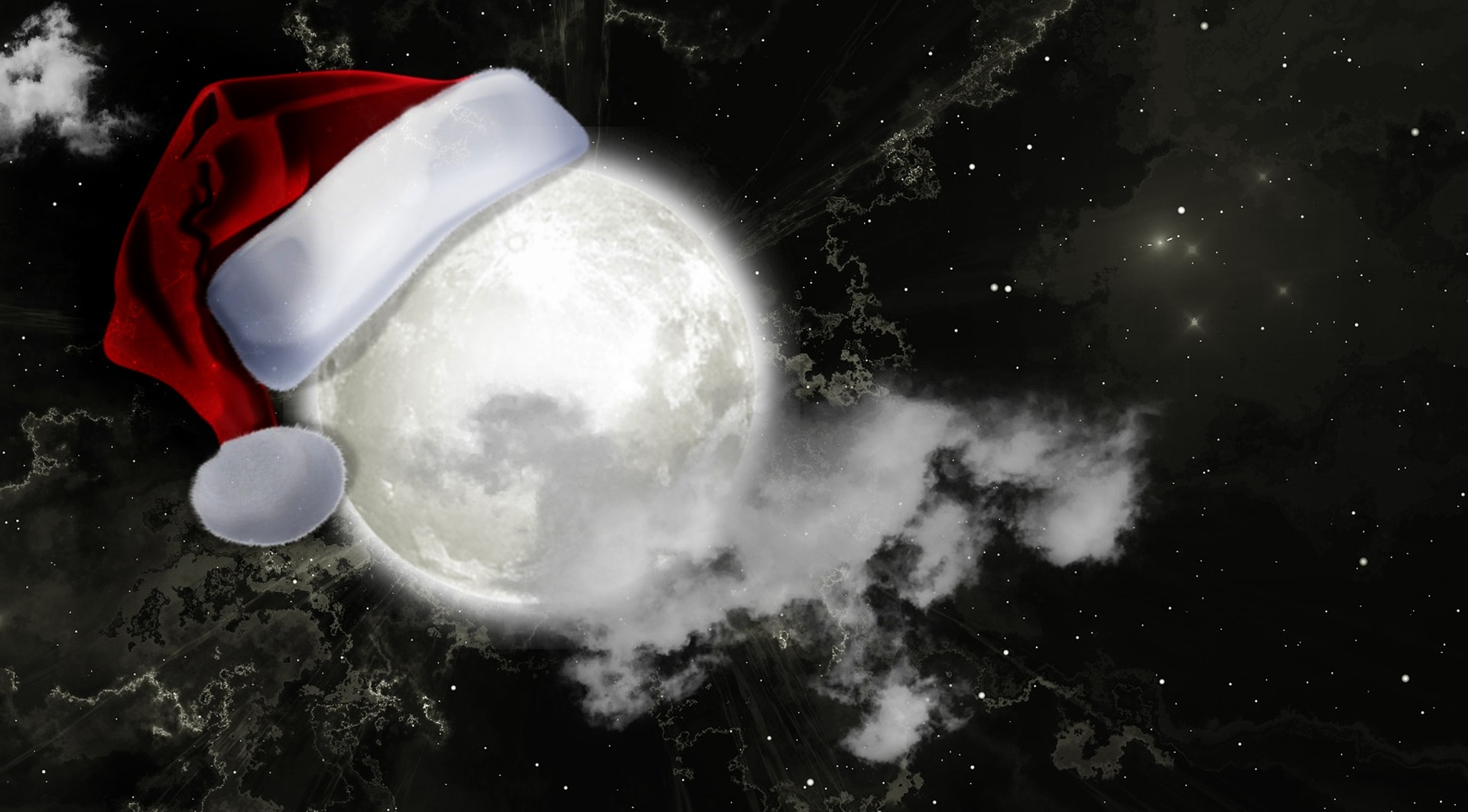 The Magical Yule Moon Of Christmas