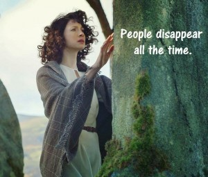 Outlander Claire Missing In Time