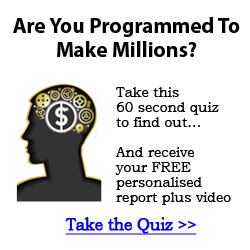 Program Your Mind To Be A Millionaire Money Magnet!